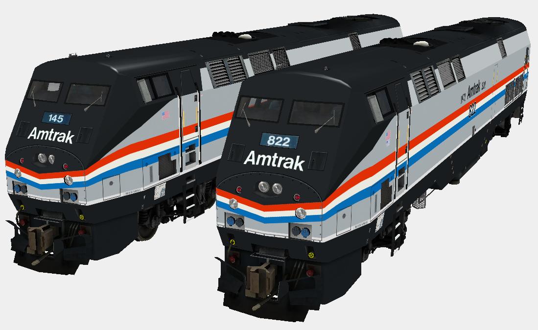 MSTS Amtrak Heritage Pack - Elvas Tower